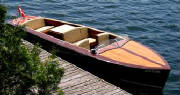 Classic Boat Custom BuiltL Gas-powered or the industry first ALL ELECTRIC CLASSIC BOAT - Click on the image to check out this excellent ski boat by Montreal Classic Boatworks pn their website